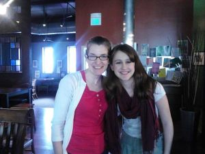 My sweet friend Emily. Such a blessing!